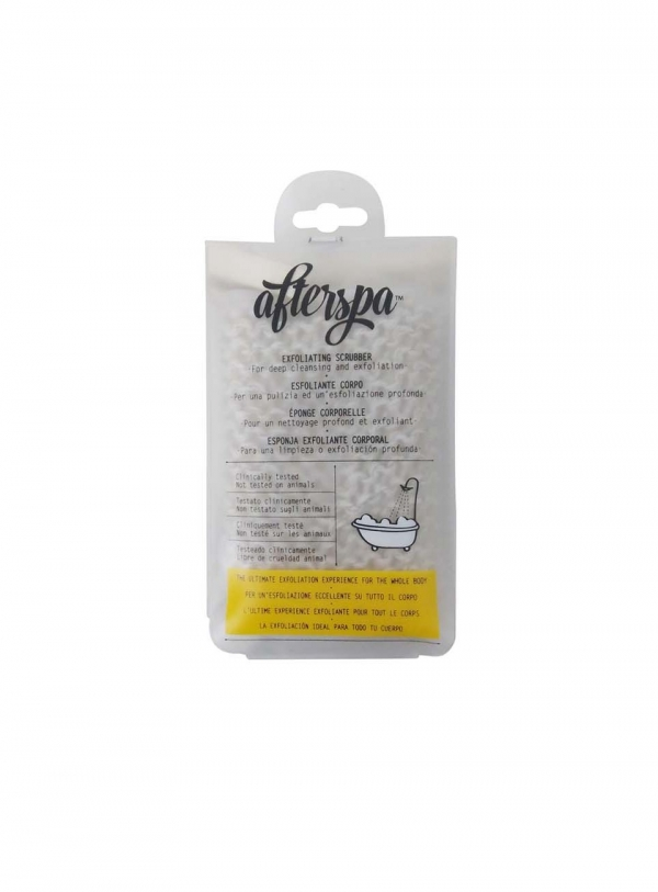 AfterSpa Exfoliating Show and Bath Scrubber