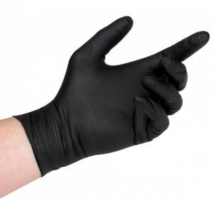 Black Nitrile Gloves