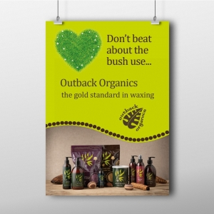 Outback Organics Don't Beat About The Bush Poster