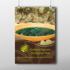 Outback Organics Eucalyptus Poster A3