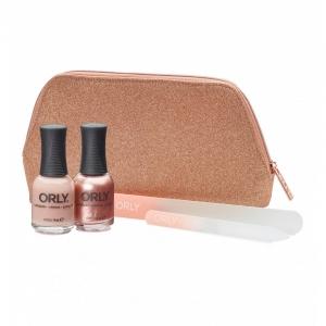 ORLY Rose Gold Glitter Gift Bag