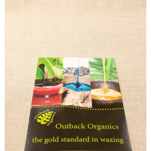 Outback Organics Strut Card
