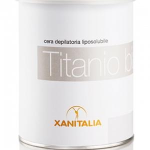 Xanitalia White Titanium Strip Wax 800g