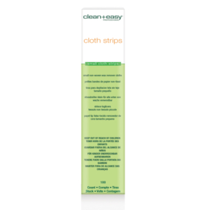 Clean + Easy Cloth Waxing Strips - Small