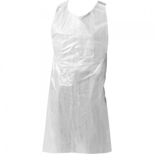 clear disposable aprons