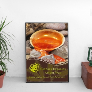 Outback Organics Amber Poster A3