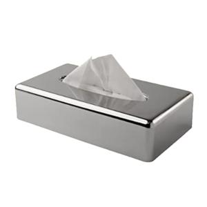 Chrome Tissue Box