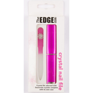 The Edge Crustal Nail File with Case