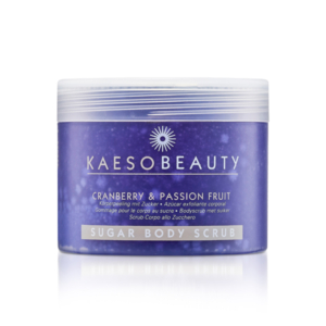 Kaeso Cranberry & Passionfruit Sugar Scrub 450ml