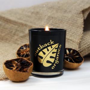 Outback Organics Christmas Candle